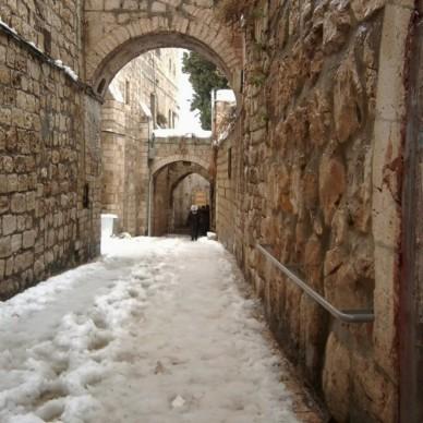 Alleys of the Old City, Jerusalem