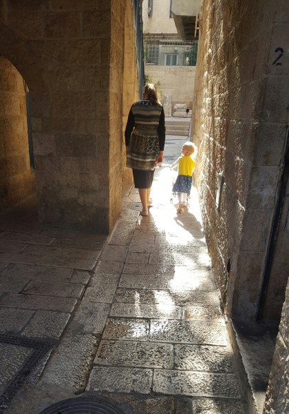 Quiet moments in the Old City, Jerualem