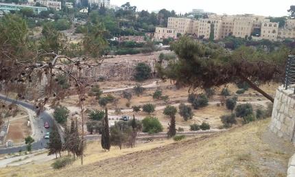Hills outside the Old City, Jerusalem