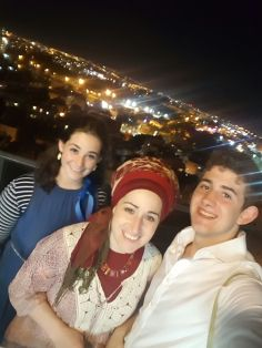 With Gavriel and my mother