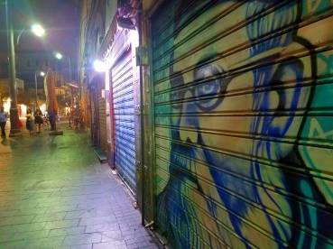 The shuk at midnight